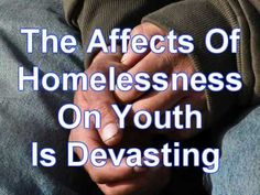 Information: Homeless Youth Project. Did you know that most youth homelessness is due to family conflict?