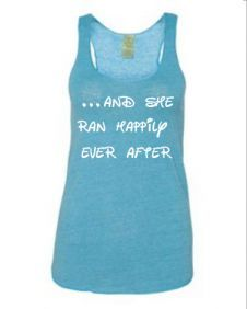 running shirts for women with clever sayings | Women's running tank tops