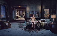 """By Gregory Crewdson, from his work; """"Beneath The Roses"""" ©Gregory Crewdson Diane Arbus, Narrative Photography, Cinematic Photography, Edward Hopper, Contemporary Photography, Fine Art Photography, Conceptual Photography, Photography Gallery, Amazing Photography"""