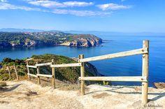 Gorliz coastline with view of Barrika cliffs