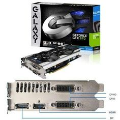 GeForce GTX670 GC 2GB GDDR5 (67NPH6DV6KXZ) - by Galaxy Technology. $550.09. Galaxy GeForce GTX 670 GC 2GB GDDR5. Base Clock 1006MHz, Boost Clock 1058MHz, 1344 CUDA Processors, Memory Clock 3004(Effective6008)MHz, GDDR5 Memory Type, 2048MB Memory Amount, 256-bit Memory interface, 192.3GB/sec Memory Bandwith. Key Features: Factory Overclocked, Custom dual-fan cooling, Quad nickel-plated heatpipes, Special fan blade design minimizes noise, Aluminum cover with LED effects, NVIDIA ...