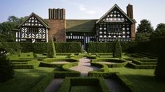 The Knot Garden at Little Moreton Hall, Cheshire