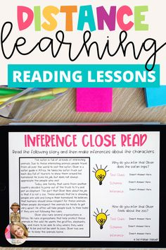 Reading Centers, Reading Passages, Reading Comprehension, Instructional Technology, Educational Technology, Reading Lessons, Reading Skills, Upper Elementary, Elementary Schools