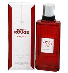 Habit Rouge Sport de Guerlain Parfum -------- 30% à 60% de réduction sur tous les parfums