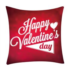 Red Valentine's Day Pillow Cover. Nine designs to choose from all on a red background. Red is the colour of LOVE so, spoilt of choice order all designs. Aladdin, Red Background, As You Like, All Design, Home Gifts, Happy Valentines Day, Gifts For Him, Pillow Covers, Throw Pillows
