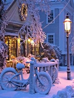 White Christmas.. Nantucket, Massachusetts, U.S