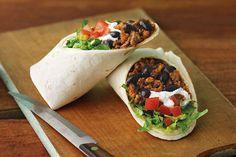 Burritos de carne de res y queso Receta