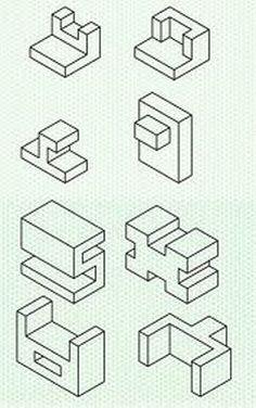 Dibujo Tecnico Vistas Cortes Estudiantes De Ingenieria