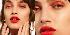 How to Wear Red Eyeshadow and Eye Liner - Best Red Eye Makeup Looks