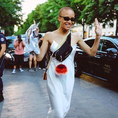 What a week! Find all our favorite street style moments from the Fall 2017 couture shows in Paris in the link in our bio. Photographed by @mrstreetpeeper.  via VOGUE MAGAZINE OFFICIAL INSTAGRAM - Fashion Campaigns  Haute Couture  Advertising  Editorial Photography  Magazine Cover Designs  Supermodels  Runway Models