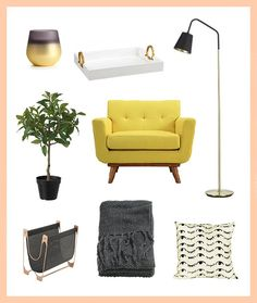 3 Ways to Decorate Your Reading Nook for Spring + Summer via Brit + Co