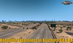 PaZzMod - Rebuilds/Expansions in ATS v1.3 (1.38.x) | By PaZz_ American Truck Simulator, Sierra Nevada, New City, The Expanse, New Mexico, Signage, The Past, Coast, Southern