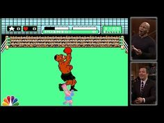 Boxing icon, Mike Tyson fights Mike Tyson in 'Mike Tyson's Punch Out!!' | Plugged In - Yahoo Games. martial arts, mma, and combat sports humor.