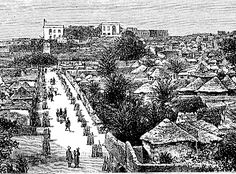 French post at Bakel on the Senegal River, 1887