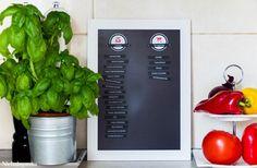 Dobra organizacja w kuchni, to kluczowa sprawa. Dziś sposób na zapanowanie nad tym co znajduje się w naszych zapasach. Projekt DIY - tablica magnetyczna.