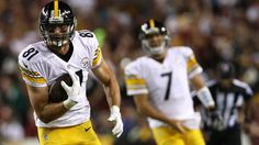 Jesse James Week 1 stats: 5 catches for 31 yrds., 3 were 1st down.