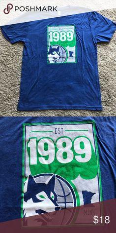 6218079f72d Minnesota Timberwolves Retro Logo NBA Shirt For sale is a Minnesota  Timberwolves Retro Logo NBA Shirt