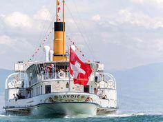 Golden Gate Bridge, Switzerland, Travel, Geneva, Lake Geneva, Beauty, Swiss Guard, Ships, Viajes