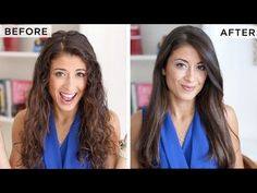 ▶ How to Blow-Dry Your Hair Straight (Step-by-Step) - YouTube