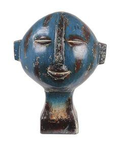 Privilege Short Ceramic Head Sculpture, Blue, http://www.myhabit.com/redirect/ref=qd_sw_dp_pi_li?url=http%3A%2F%2Fwww.myhabit.com%2Fdp%2FB00HS38QJO%3F