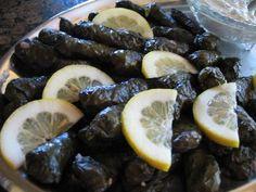 Stuffed Grape Leaves (Greek Dolmades)
