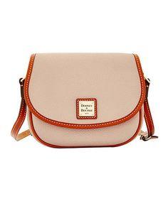 Loving this Oyster Hallie Leather Crossbody Bag on #zulily! #zulilyfinds