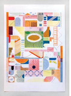 Limited edition print commissioned by the V&A Museum, by Hannah Waldron.