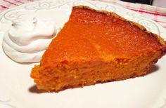 Paleo Sweet Potato Pie  @Paleo Cupboard