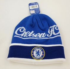 CHELSEA FC SOCCER BEANIE CAP HAT SKULLIE WINTER AUTHENTIC   OFFICIAL - NEW  !!  rhinox  CHELSEAFC 975d7ed9c791