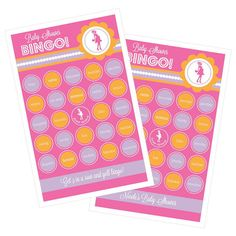 Shes Going to Pop Pink Scratch Off Game Cards by allaboutthebabe