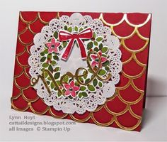 Cattail Designs: August 2014 - Lynn Hoyt was guest stamper for Mary Fish on this day of posting. Use the adhesive sheets.