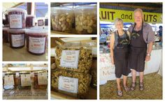 Country Mouse Fruit 7 Nuts owners by Barbara and Rodney Henwood are long standing stall holders at the Market. They sell a range of dried fruit, nuts, jams, olives and more. Dried Fruit, Olives, Photo Editor, Range, Marketing, Country, Design, Cookers, Rural Area