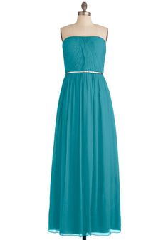 Bridesmaid...? 220.00 love the color The Local Muse Dress in Turquoise, #ModCloth