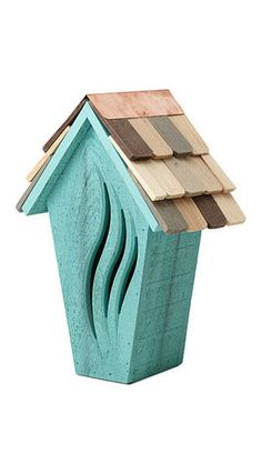Wooden Butterfly House  $68.00 |  UncommonGoods