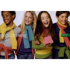 United Colors of Benetton Kids Ad Campaign Fall/Winter 2009 Shot #3 ❤ liked on Polyvore featuring ad campaign