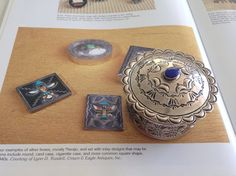 Vintage Navajo Sterling Silver Box offered by iCollectSouthwest, $695.00