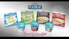 Polmlek - billboard sponsorski serków Capresi