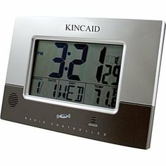 Kincaid Wall Mounted Weather Station Digital Clock