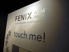 Touch the FENIX NTM! Architect @ Work 2013, Paris.