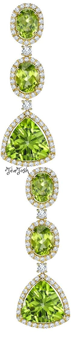 ❇Téa Tosh❇ Zesty green peridot & Diamond drop Earrings Green Colors, Blue Green, Lime Punch, Forever Green, Evening Primrose, Diamond Drop Earrings, Green Peridot, World Of Color, Spring Green