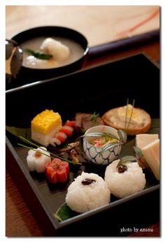 Japanese New Year's Day Celebration Dish