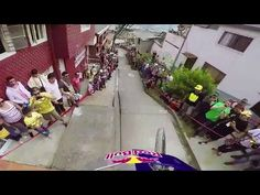 Urban Downhill Mountain Bike POV in Colombia - YouTube