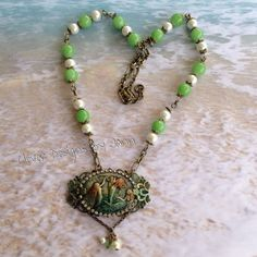"""A new Cameo Mermaid for my new design line """"Adventures In The Sea""""  .. Introducing """"Sereia"""" which is a Poruguese name for Mermaid .. Jann Tague .. Clever Designs  https://www.facebook.com/JewelsByJann"""