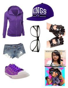 Youtuber- Aphmau by katiegould312 on Polyvore featuring polyvore fashion style American Eagle Outfitters Burnetie ZeroUV clothing