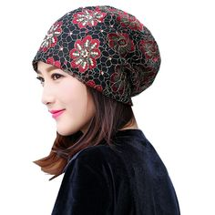 Girl's Hats Apparel Accessories Provided Women Beanie Hats Warm Polyester Shine Pearls&rhinestones Beanies Women Girl Winter Hats Turban Skull Beanie Female Bonnet Easy To Repair