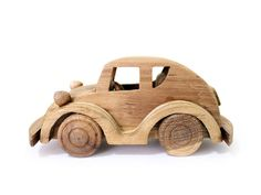 Toy Beetle Car is available for adventure lover children. They will love to play with it in many activities, in jungles, deserts, cities or in war games. Promotes creative play and imagination. It is truly piece to add to your toy collection.    We use only safe material. Our environment friendly toys are safe for children.    • Handmade in Chiangmai, Thailand  • Teak craft models  • Natural color and Non-toxic ingredients.  • All connection parts, pins are made of wood    Enjoy the idea of…