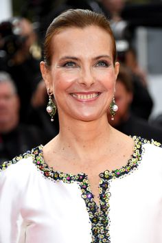 Carole Bouquet, CHANEL - Montée des marches 70ème Anniversaire du Festival International du Film de Cannes