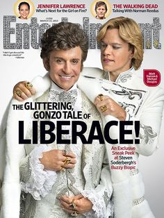 Liberace - Entertainment Weekly cover-- guess who was the one that ran this photo shoot?!  IT WAS ME!!! Cant wait til it comes out this month.  Very excited.