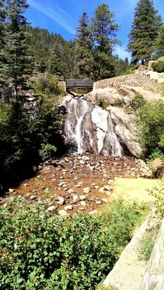 Helen Hunt Falls, Colorado Springs - so many fond memories here. Including one where my dad sat on the bridge and his wallet went over and down the falls.