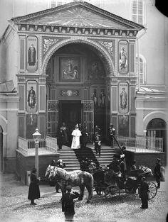 Tsar Nicholas ll of Russia with Empress Alexandra Feodorovna of Russia in 1896.A♥W